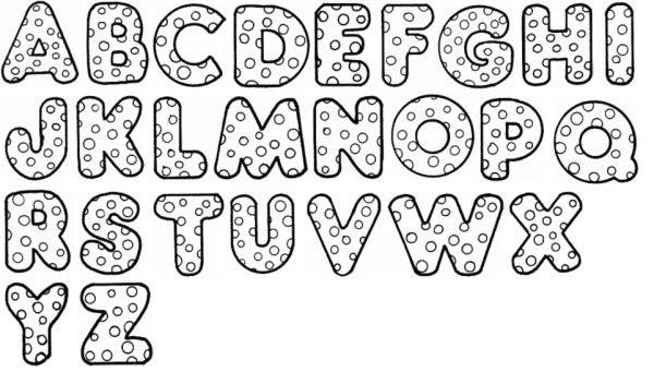 Moldes de letra para carteleras y demás - Página web de ...